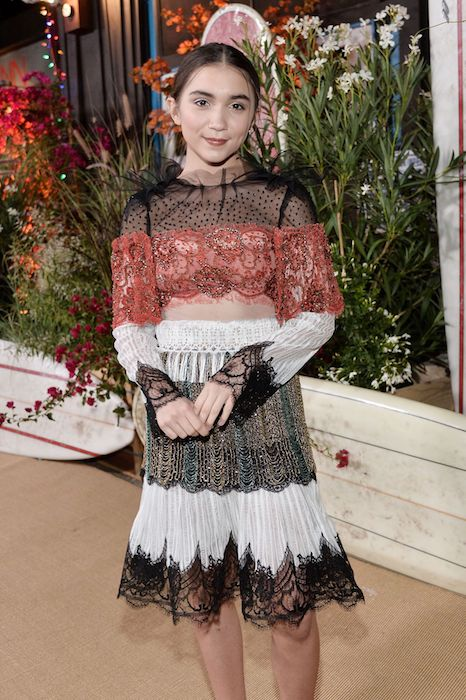 Rowan Blanchard at Teen Vogue Young Hollywood Party in September 2016