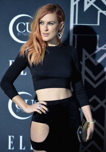 Rumer Willis at 2014 Elle Women in Music Celebration in Hollywood