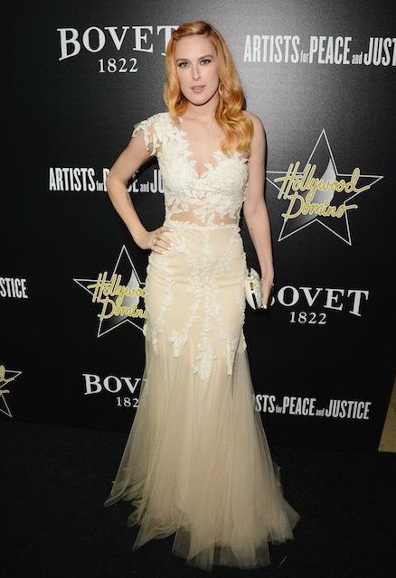 Rumer Willis at 2014 Hollywood Domino and Bovet 1822 Gala