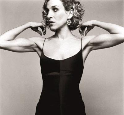 Sarah Jessica Parker toned arms