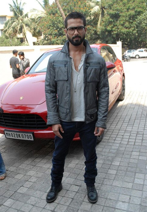 Shahid Kapoor at IIFA 2014 Press Meet in Mumbai