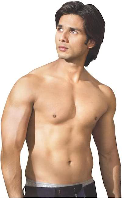 Shahid Kapoor shirtless