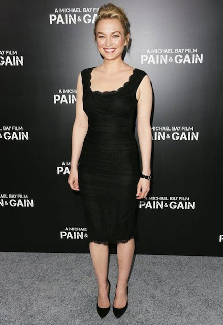 Sophia Myles at the 'Pain & Gain' Hollywood Premiere.