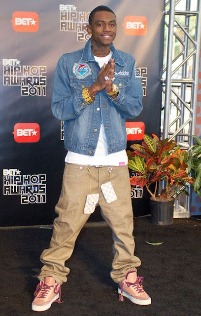 Soulja Boy at BET Hip Hop Awards 2011
