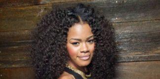Teyana Taylor face closeup