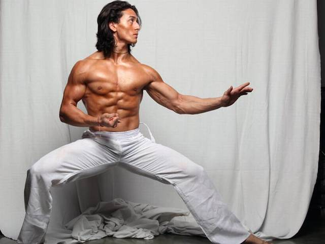 Tiger Shroff workout body