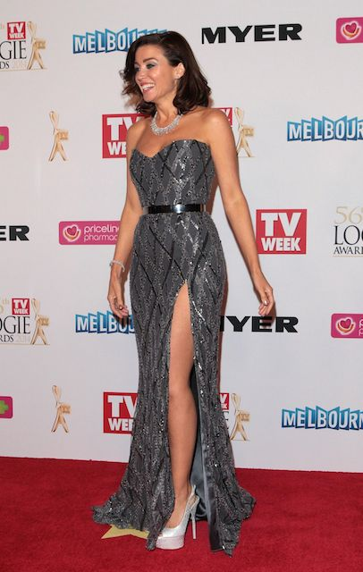 Dannii Minogue at 2014 Logie Awards in Melbourne, Australia