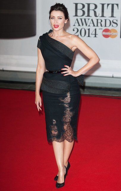 Dannii Minogue during BRIT Awards 2014
