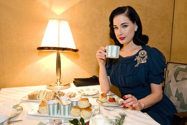 Dita Von Teese diet