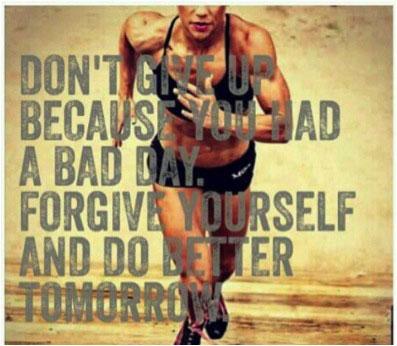 Do better tomorrow