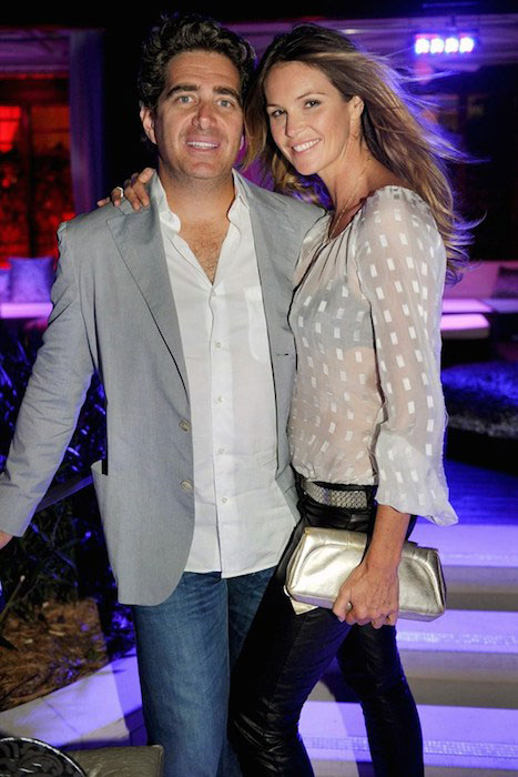 Elle Macpherson and Jeff Soffer