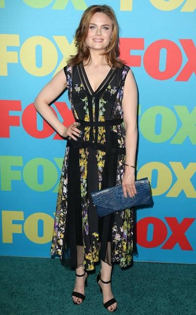 Emily Deschanel at 2014 FOX Network Upfront