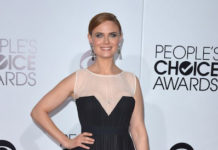 Emily Deschanel at People's Choice Awards 2014