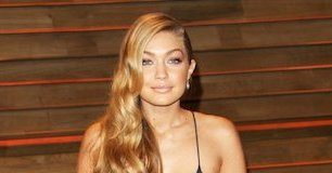 Gigi Hadid at Vanity Fair Oscar Party 2014