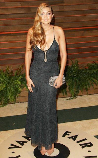 Gigi Hadid at Vanity Fair Oscar Party 2014