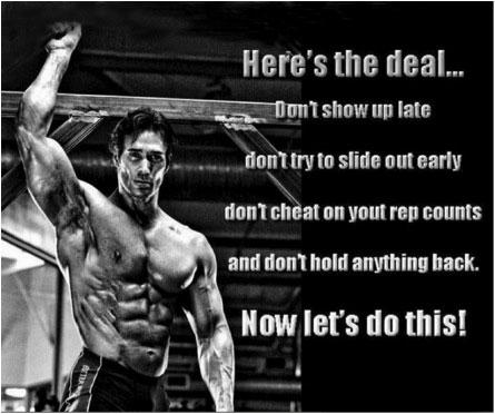 Gym accomplishments