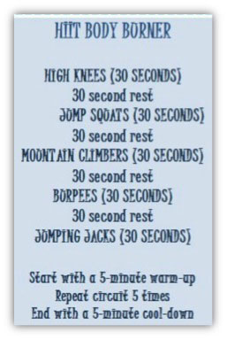 HIIT Body Burner