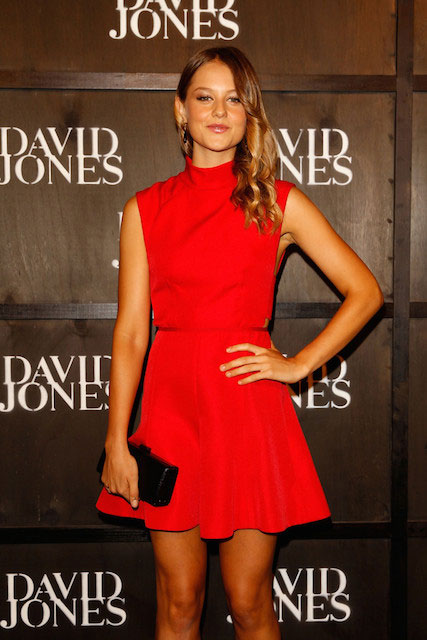 Isabelle Cornish during David Jones 2014 Collection Launch