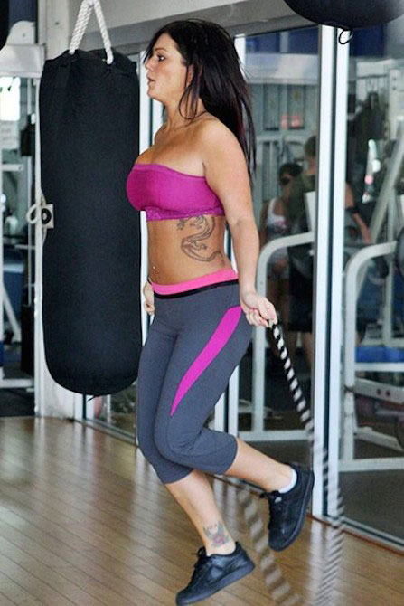 "Jenni Farley ""JWoww"" Diet Plan and Exercise Routine ..."