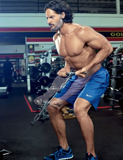 Joe Manganiello gym workout