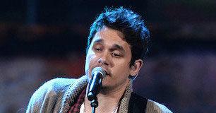 John Mayer singing