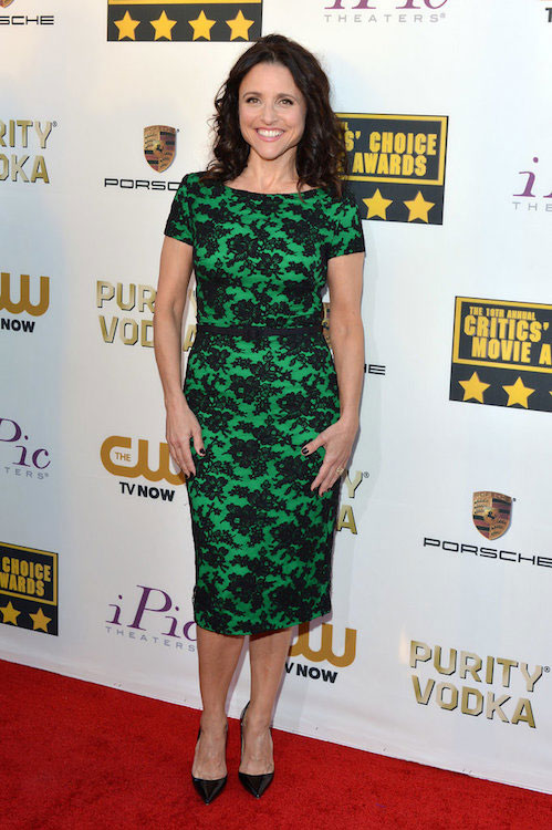 Julia Louis-Dreyfus workout routine and diet plan.