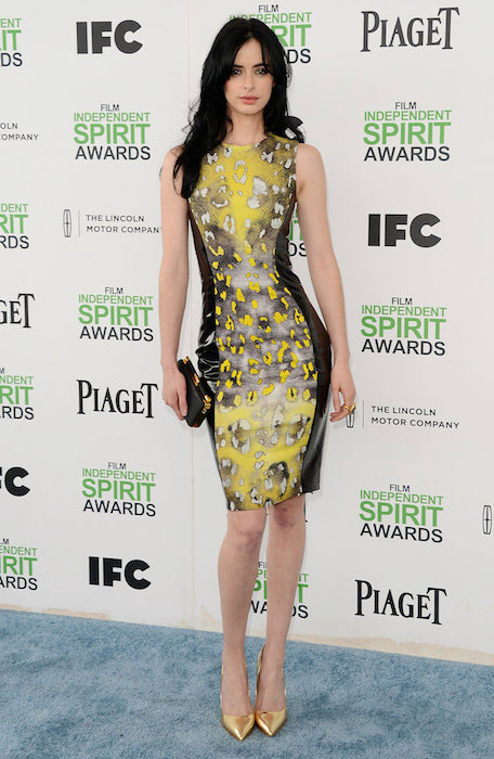Krysten Ritter at 2014 Spirit Awards