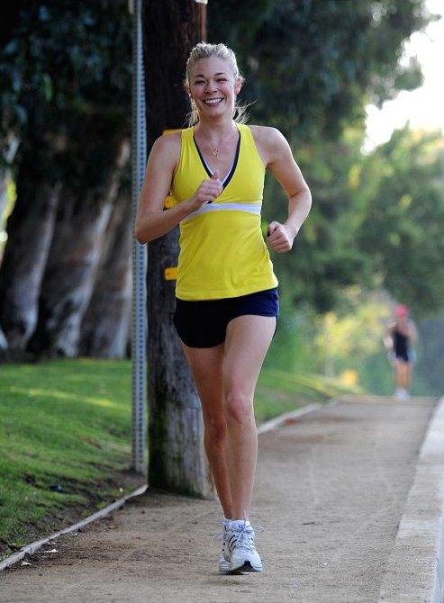 LeAnn Rimes workout routine