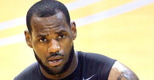 LeBron James Basketball workout