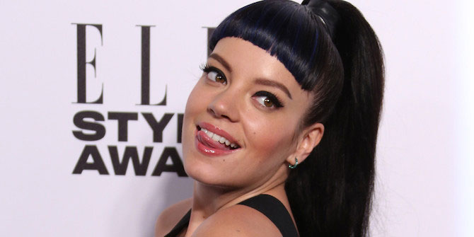 Lily Allen fitness