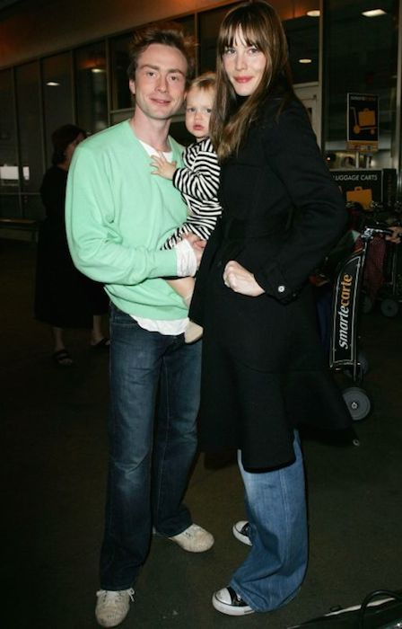 Liv Tyler and her ex-husband Royston Langdon.