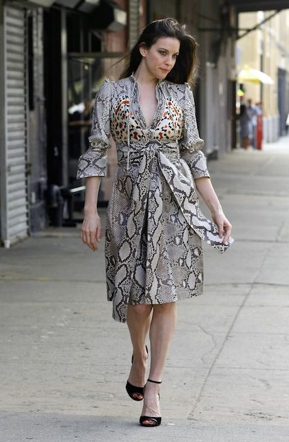 Liv Tyler photoshoot candids in New York in April 2014