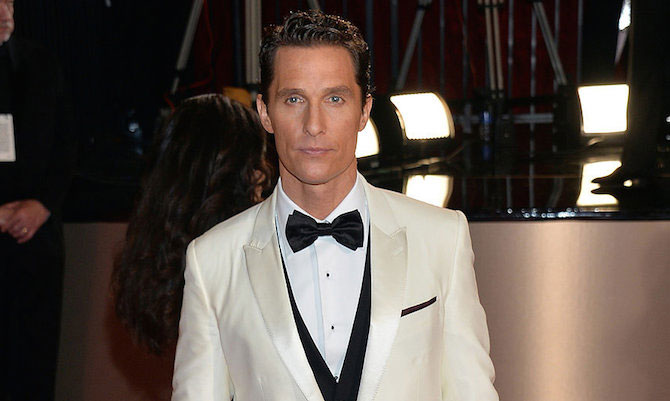 Matthew McConaughey workout routine