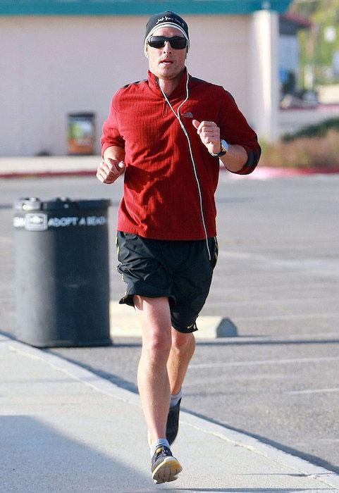 Matthew McConaughey running