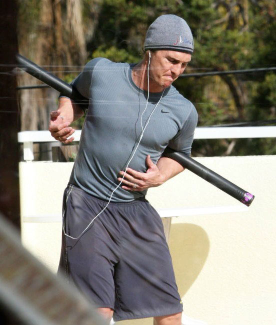 Matthew McConaughey workout