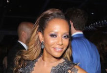 Mel B at 22nd Annual Elton John AIDS Foundation's Oscar Viewing Party