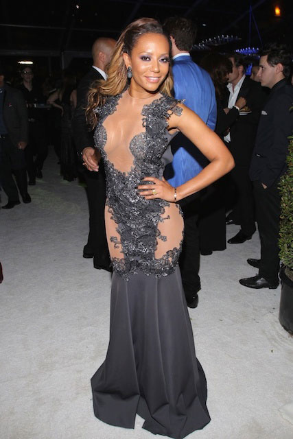 Mel B at 22nd Annual Elton John AIDS Foundation's Oscar Viewing Party.