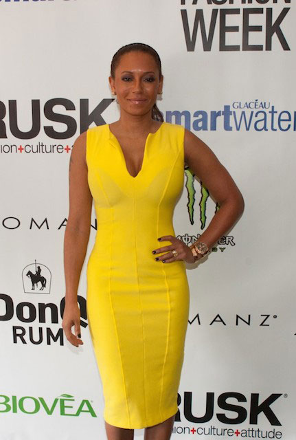 Mel B at Nolcha Fashion Week Spring Summer 2014