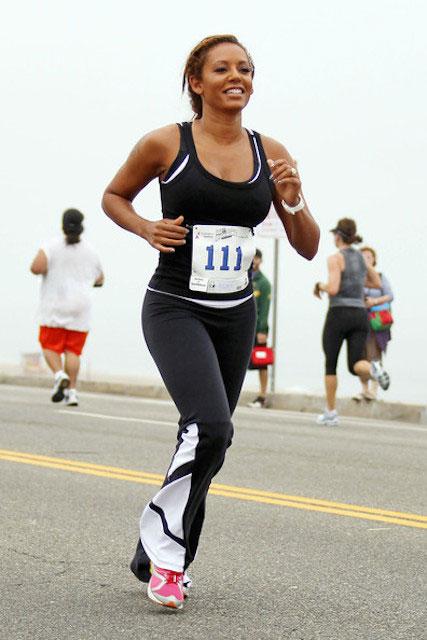 Mel B running
