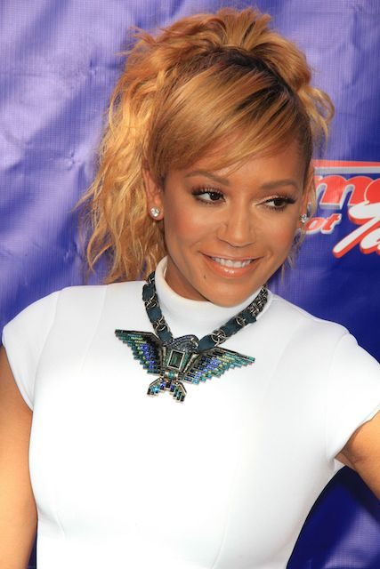 Mel B wearing LaQuan Smith dress at America's Got Talent Season 9