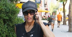 Michelle Rodriguez returns from workout