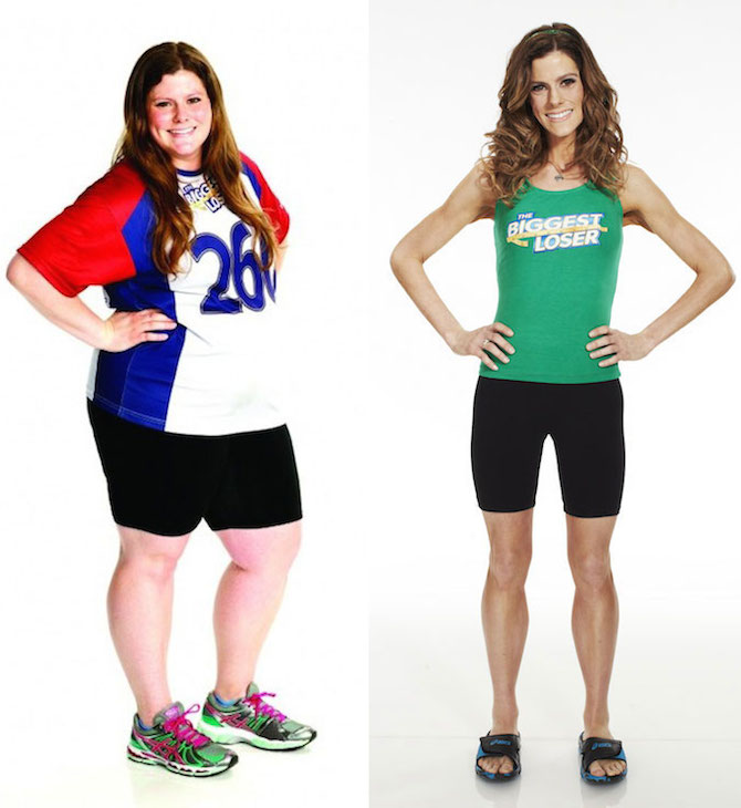 Rachel Frederickson before and after weight loss