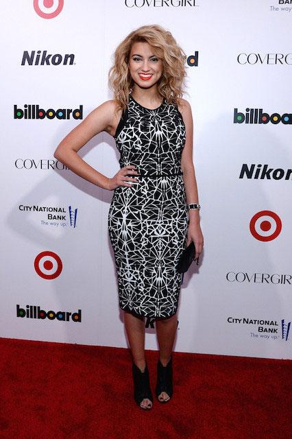 Tori Kelly at 2013 Billboard Women in Music Event