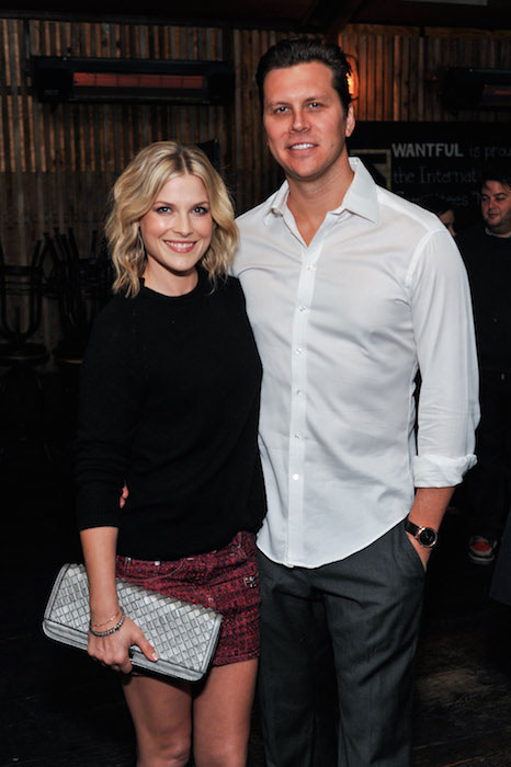 Ali Larter and Hayes MacArthur.
