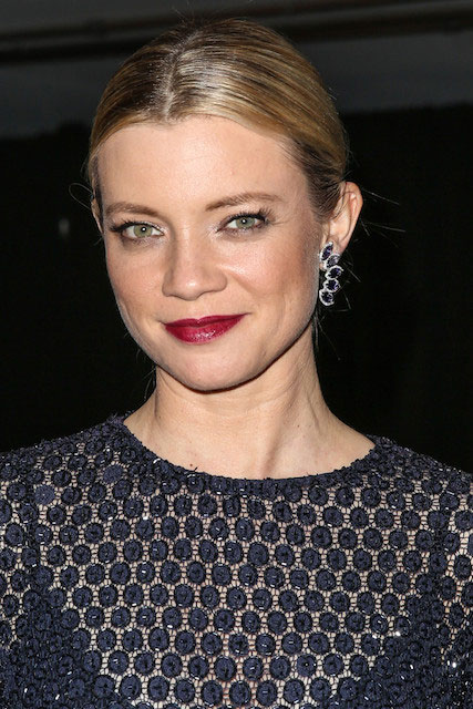 Amy Smart arrives at Mercedes Benz Arrivals at The Art of Elysium 7th Annual Heaven Gala.