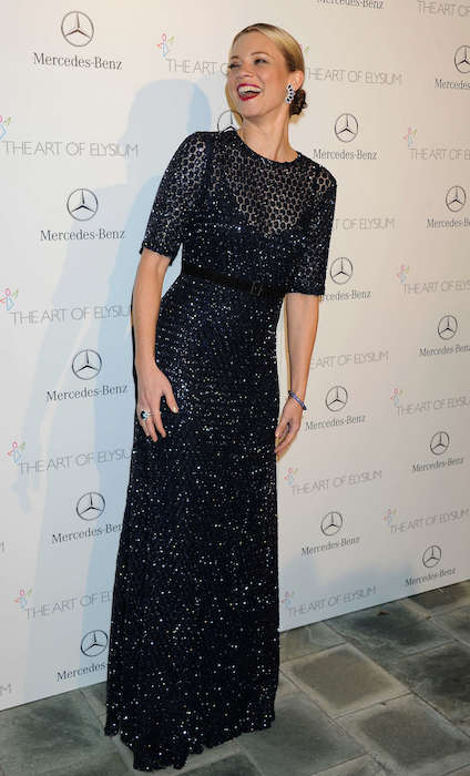 Amy Smart at 2014 The Art of Elysium's 7th Annual HEAVEN Gala.