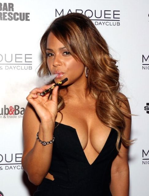 Christina Milian at 2014 Nightclub Bar Convention and Trade Show in Vegas.
