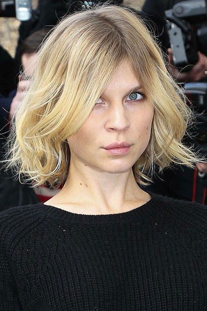 Clemence Poesy's short hair
