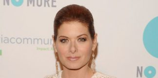 Debra Messing at 2014 Joyful Revolution Gala in New York City