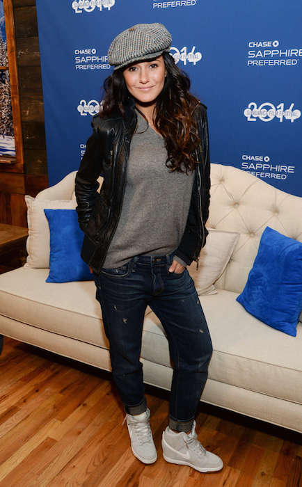 Emmanuelle Chriqui during 2014 Sundance Film Festival.